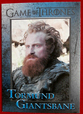 GAME OF THRONES - Season 4 - Card #64 - TORMUND GIANTSBANE - Rittenhouse 2015