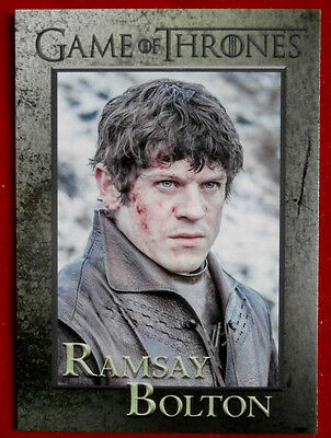 GAME OF THRONES - Season 5 - Card #57 - RAMSAY BOLTON - Rittenhouse 2016