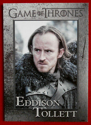 GAME OF THRONES - Season 5 - Card #73 - EDDISON TOLLETT - Rittenhouse 2016
