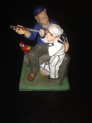 Ships Ahoy Norman Rockwell Figurine The Saturday Evening Post 1992