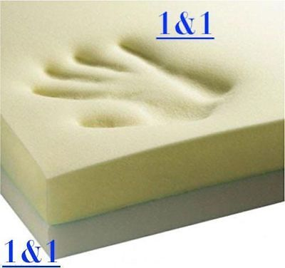 ORTHOPAEDIC MEMORY FOAM 140x70x2.5cm Cotbed MATTRESS TOPPER Cot Bed Size~