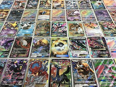 POKEMON CARD LOT 100 AUTHENTIC CARDS - GUARANTEED EX/GX! BOOSTERS Pokemon TCG