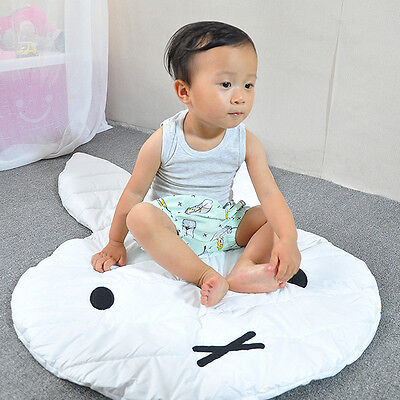 Baby Kids Toddler Cute Bunny Play Rug Picnic Cushion Crawling Mat Playing  New.