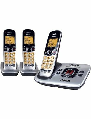 UNIDEN DECT 3135+2 CORDLESS PHONE HOME OFFICE Works in Blackout Answer Machine