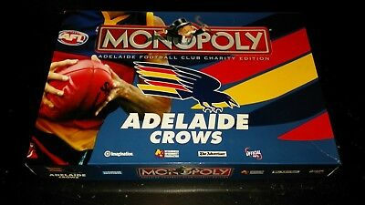 2005 Adelaide Crows Charity Edition Monopoly 100% Complete