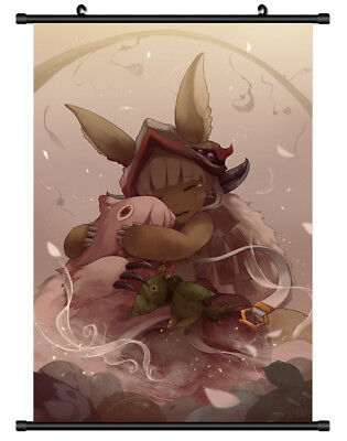 B4550 Made in Abyss anime manga Wallscroll Stoffposter 25x35cm