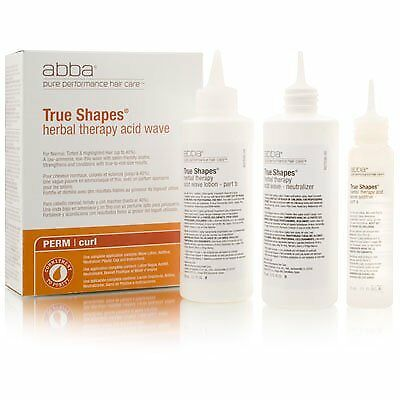 Abba True Shapes Herbal Therapy Acid Wave(Acid Wave Kit) - New