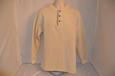 VTG Akwa Barona Casino 3 Button Pullover Sweatshirt Soft Mens M Made in USA 90's