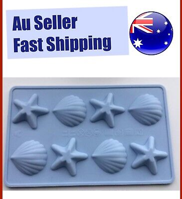 Sea Shell Ice Star Silicone Mould Chocolate Silicon Fondant Cake Mold Baking