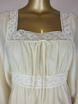 Vintage Long Maxi Lace Night Dress Gown