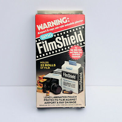SIMA Film Shield - Camera Lead Lined Bag for Airport X-ray NEW In Box