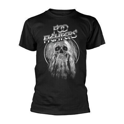Foo Fighters Skull Dave Grohl Concrete and Gold Official Tee T-Shirt Mens Unisex