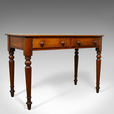 Antique Side Table, English, Mahogany, 19th Century, Circa 1860