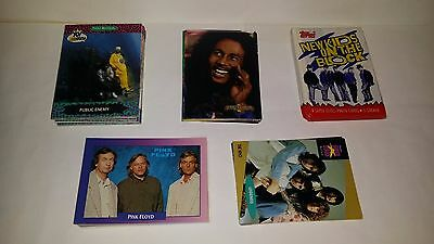 Mixed lot of 100  Music Trading Cards