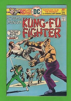 Richard Dragon Kung-Fu Fighter # 7 DC Comics Lady Shiva Martial Arts Wally Wood