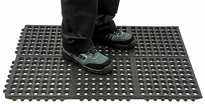 Portwest Anti Fatigue Safety Mat Heavy Duty MT52