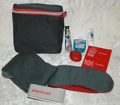 Air Berlin Tasche Business Class Amenity Kit Reiseset Kulturbeutel Neu