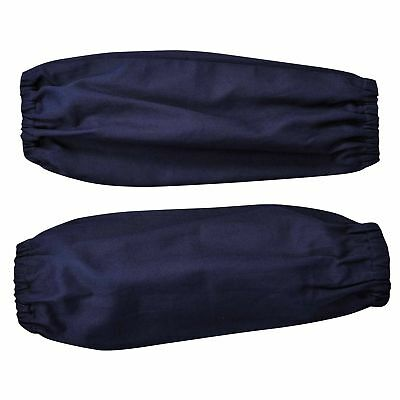 Portwest Bizweld 17inch Sleeves Safety Welders Navy BZ11