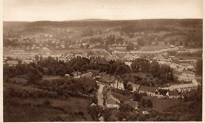 "Birds Eye View of MINEHEAD - Somerset - Vintage Postcard ""Daily News"" (40260)"
