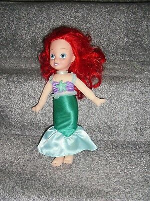 Disney Little Mermaid Soft Toy Ariel Soft Toy Doll With Moulded Head 12'' Tall