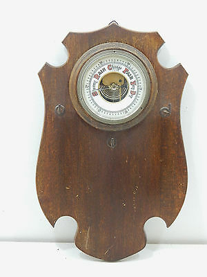 Antique 19th Century Wall Hanging Barometer Weather Station