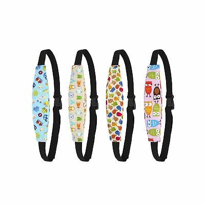 Biubee 4 Pack Infant Baby Head Support Belt, Car Seat Neck Relief and Head Su...