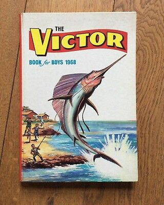 THE VICTOR BOOK FOR BOYS 1968 - Excellent Condition
