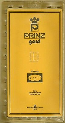 Prinz Gard Clear mounts  216 x 115mm  or buy 4 of any size and get 1 free