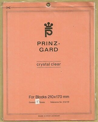 Prinz Gard Clear mounts  210 x 170mm  or buy 4 of any size and get 1 free
