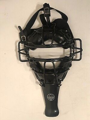 ASA Umpire-Catchers Mask Old School Heavy Metal Cage Great Condition