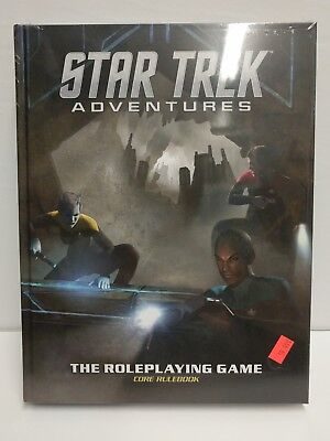 Star Trek Adventures Core Rulebook The Roleplaying Game RPG Book Modiphius New!
