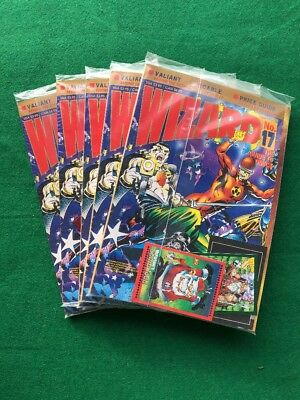 Wizard Magazine #17 Sealed In Polybag With Cards