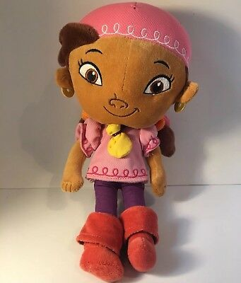 "IZZY Plush Doll 12"" DISNEY Jake and The Neverland Pirates Stuffed Animal Toy"