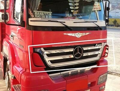 Mercedes Axor MP1 Radiator Grille Outside Super Polished Stainless Steel 4 Pcs