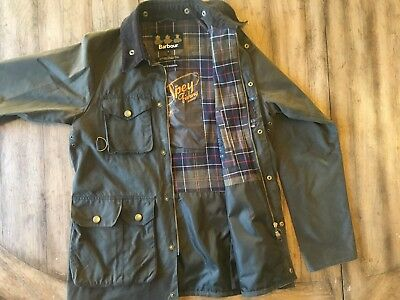 Barbour Bedale Mens Wax Jacket Size L  C42 107 Cm