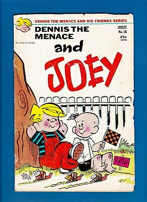 DENNIS THE MENACE AND HIS FRIENDS SERIES #18 (JUNE 1973) READER And Joey