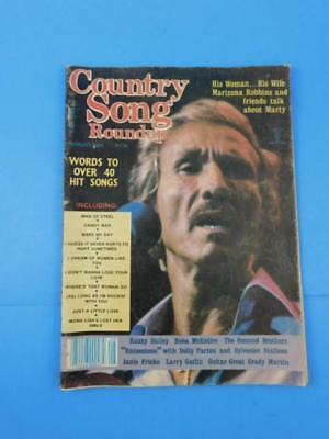 Country Song Round-up Magazine August 1984 Marty Robbins
