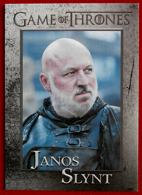 GAME OF THRONES - Season 5 - Card #68 - JANOS SLYNT - Rittenhouse 2016
