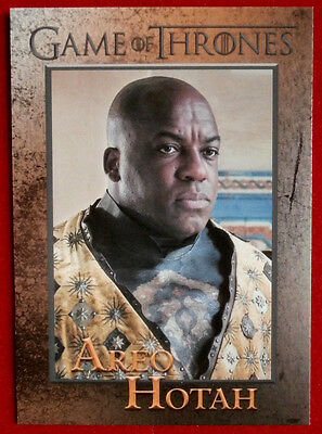 GAME OF THRONES - Season 5 - Card #83 - AREO HOTAH - Rittenhouse 2016