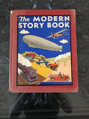 Vintage 1937 Childrens Book:The MODERN STORY BOOK color Illustrated by Ruth Eger