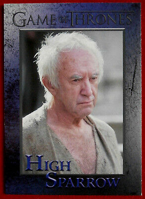 GAME OF THRONES - Season 5 - Card #78 - HIGH SPARROW - Rittenhouse 2016