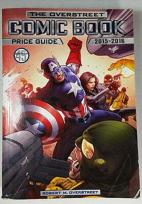The Overstreet Comic Book Price Guide 45th Ed 2015-2016 Paperback Ex Library