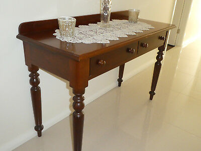 Antique Console Hall Table