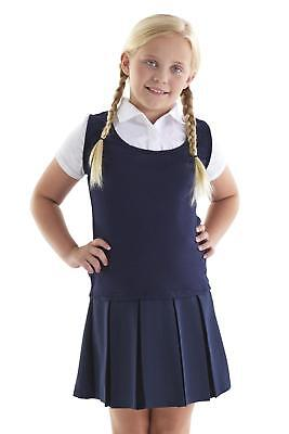 French Toast Uniform Navy White Twofer Blouse Girls Dress S M L Xl 7 8 10 12 14