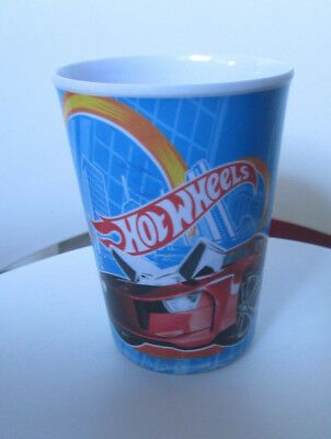 Hot Wheels Melamine Plastic Kid's Children's Drinking Cup Tumbler