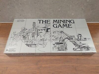 Vintage The Mining Game - Board Game - Murfett Games - 1983