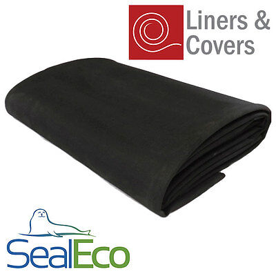 SealEco Greenseal EPDM Rubber Pond Liner | Thick, Heavy Duty | Multiple Sizes