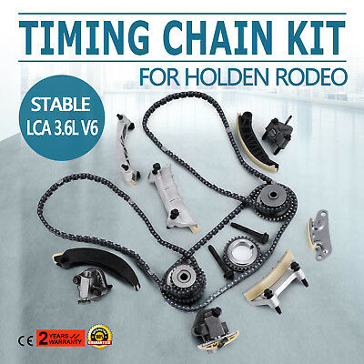 Timing Chain Kit For Holden Rodeo 2007-2015 3.6L V6 VZ/VE DI Chain Guides