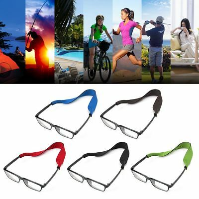 2Pcs Glasses Strap Neck Cord Sports Sunglasses Rope Band Holder Eyeglass String