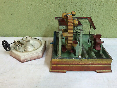 Steam Engine Driven Model – Fountain - Bing + Pumpstation Doll